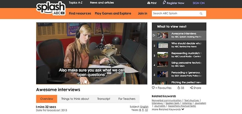 Die Australian Broadcasting Corporation fördert barrierefreies E-Learning