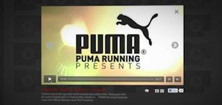 PUMA, 온라인 비디오로 고객 참여 제고