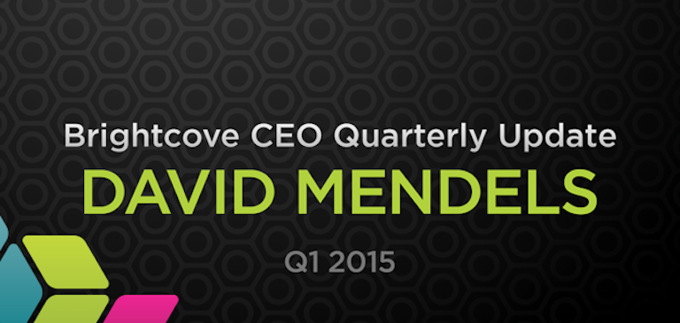 Quarterly Update from David Mendels