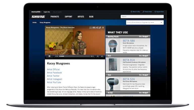 Shure Incorporated Amps Up Video Content, Increasing Video Views and Website Traffic