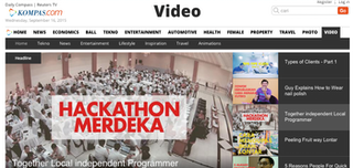 Kompas Embraces Indonesia's Digital Future with Video