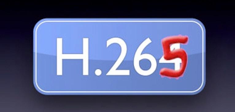 業界を牽引するであろう H.265 〜 ただしまだ少し先のお話