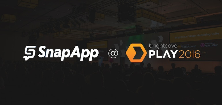 Meet SnapApp at Brightcove PLAY 2016
