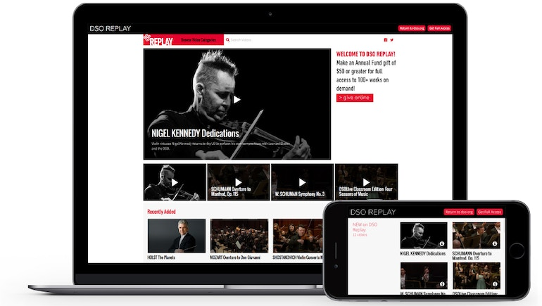 Video Amplifies the Detroit Symphony Orchestra's Reach and Donor Opportunities