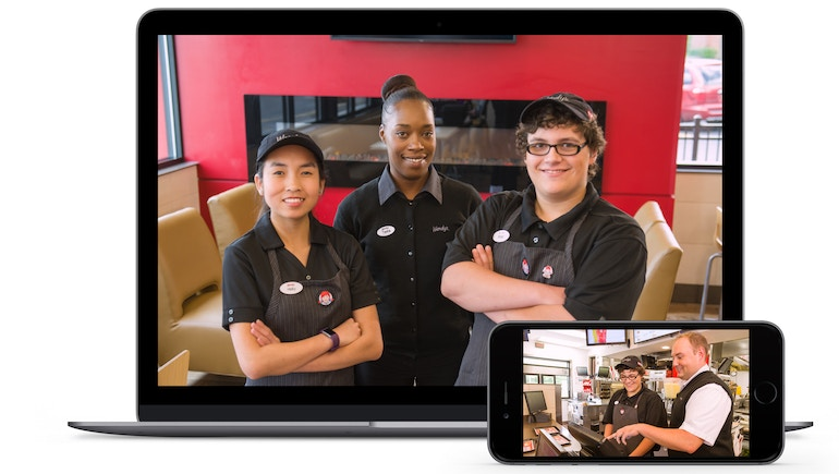Wendy's Decreases Employee Training Time with Brightcove-Powered Video