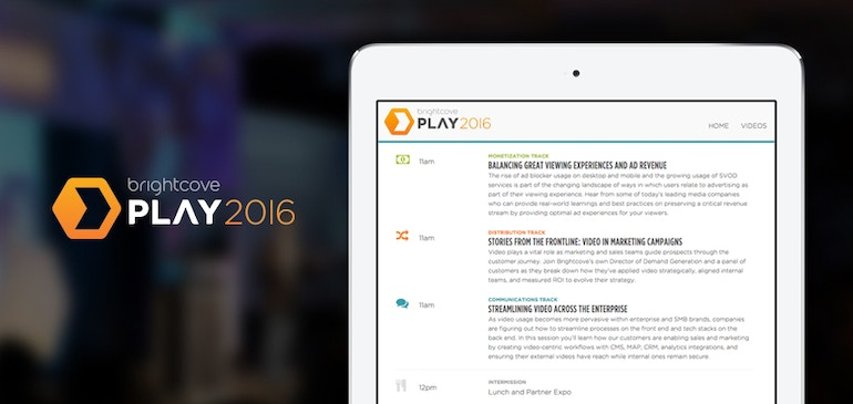 PLAY 2016 Agenda Announcements