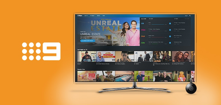 Brightcove takes 9Now to the Big Screen with Google Chromecast
