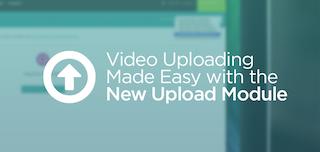 새로운 업로드 모듈을 활용한 비디오 업로딩