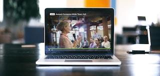 「何も質問が出ない・・・」タウンホールミーティングでの質疑応答をインタラクティブ動画で変える方法