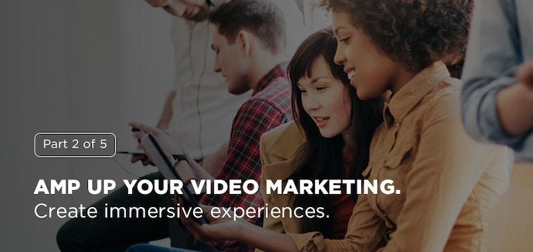더 실감나는 비디오 경험을 창조하는 방법