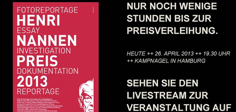Brightcove Video Cloud: STERN.de streamt Henri Nannen Preis live ins Netz