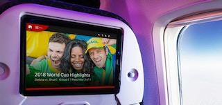 ブライトコーブ、2018 FIFAワールドカップの動画をカンタス航空機内で提供