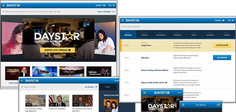 Brightcove and Lightmaker Honored for Daystar Television Network Mobile App