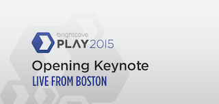 We're Live Streaming the PLAY 2015 Opening Keynote!