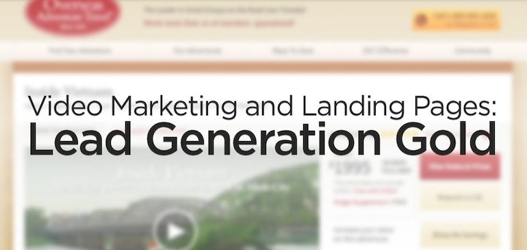 Video-Marketing und Landing-Pages: Lead-Generierung