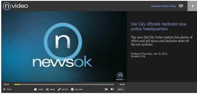 NewsOK.com は Video Cloud で OK!