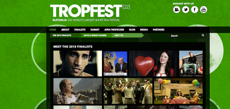 Tropfest Relies on Brightcove Video Cloud for Secure Management of Film Fest Assets