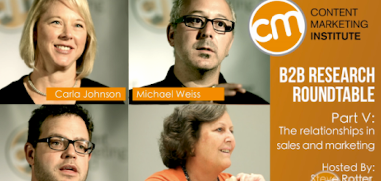 Brightcove and the Content Marketing Institute: B2B Roundtable Video Series Part V