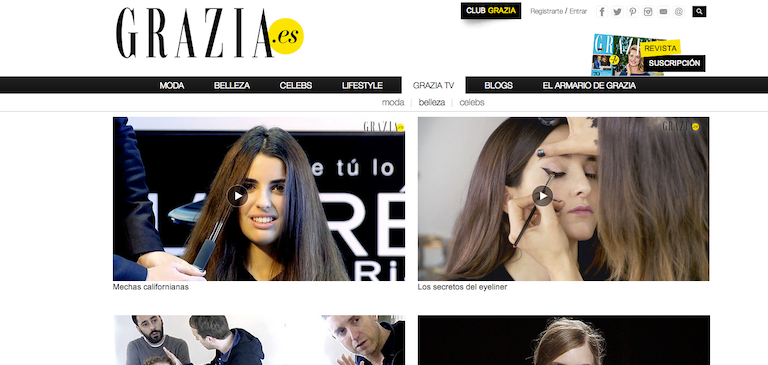 Grazia Brings Fashion to Life with Brightcove Video Cloud
