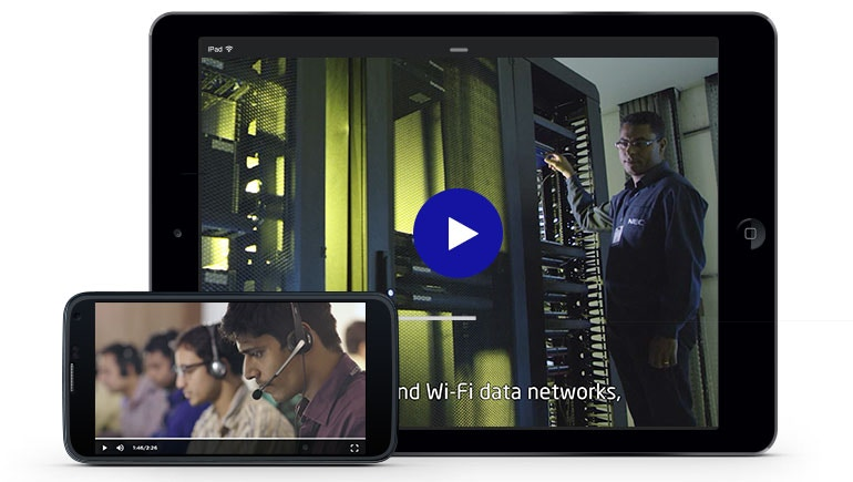 NEC Optimizes Video Viewing Experience with Brightcove