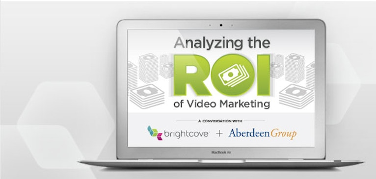 Tune in to Today's Live Video Webinar: Analyzing the ROI of Video Marketing