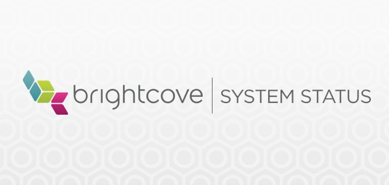 New Brightcove System Status Page