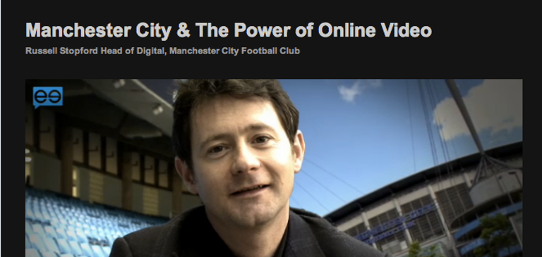 Manchester City Uses Video for Optimal Fan Engagement