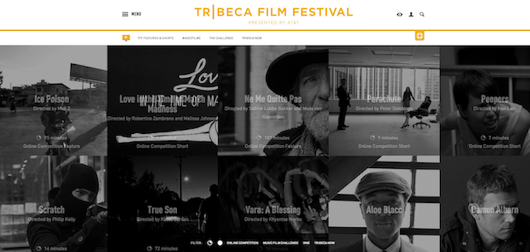 Brightcove Video Cloud Powers Tribeca Film Festival Online Festival for Fourth Straight Year