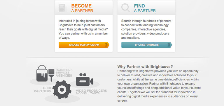 Just Launched: The New Brightcove Partner Section