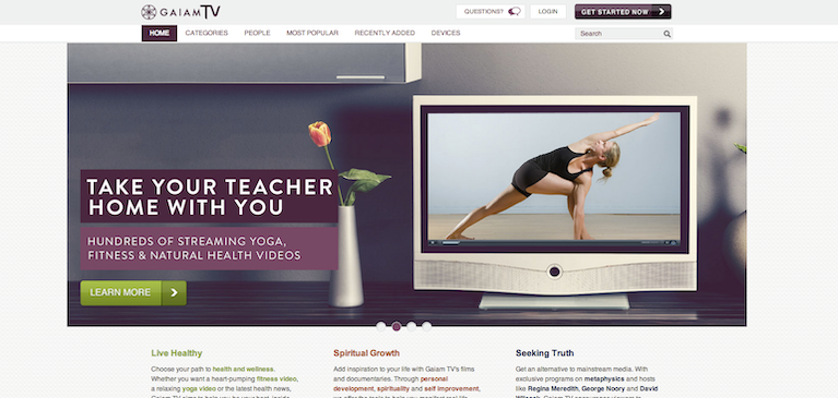 Gaiam Taps Brightcove Video Cloud to Spread Natural Health Video Content to Core Audiences