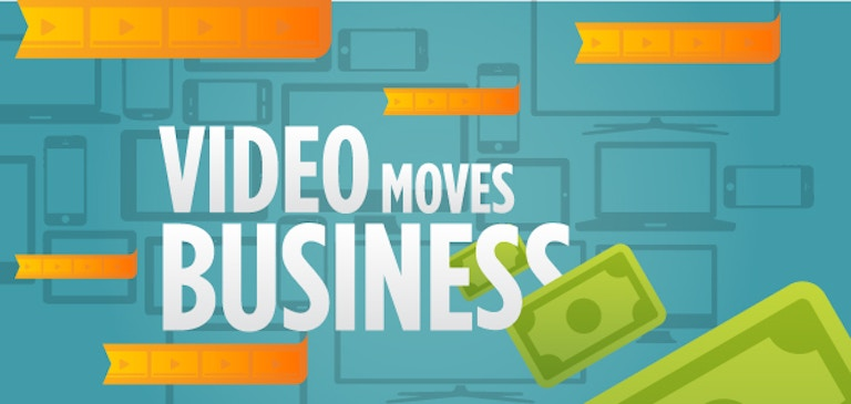 인포그래픽: Video Moves Business