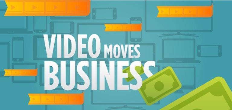 인포그래픽: Video Moves Business