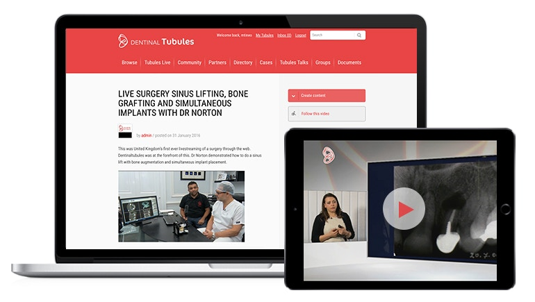 Dentinal Tubules Leverages Video to Build the Premier e-Learning Resource For All Things Dental