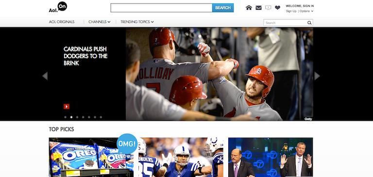 Le réseau AOL On fait confiance à Zencoder pour encoder ses vidéos à destination de tous les écrans