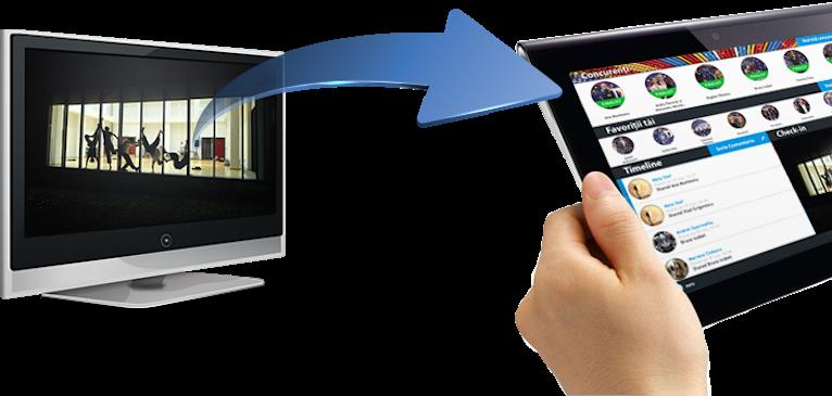 """""""Second Screen"""" – Der zweite Bildschirm macht das Fernsehen interaktiv und eröffnet neue Möglichkeiten zur Monetarisierung"""