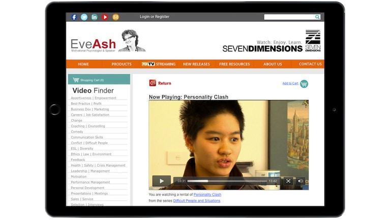 Seven Dimensions nutzt Brightcove zur Verbreitung seiner Videos
