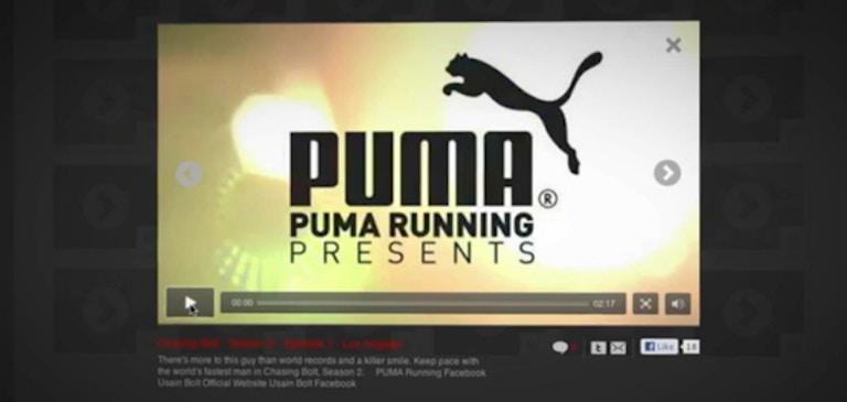 PUMA がオンライン動画で顧客エンゲージメントを促進