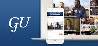 Georgetown 대학의 비디오 포털 활용