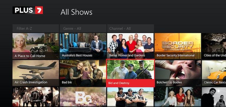 Yahoo7 が Xbox One でキャッチアップ TV を提供
