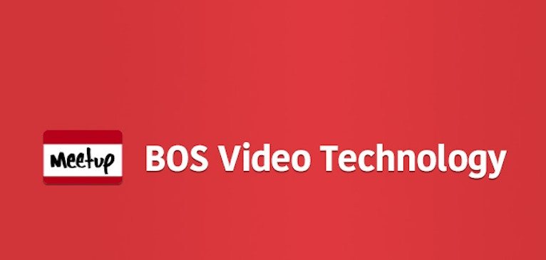 Video Technology Meetup Comes to Boston!