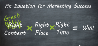 A New Equation for Marketing Success - Live from MarTech
