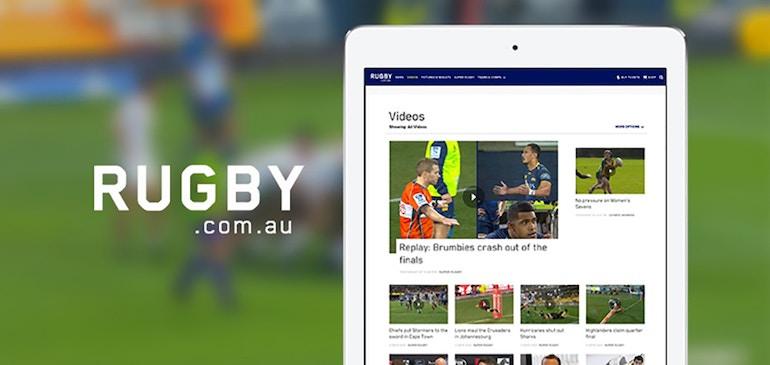オーストラリア ラグビー協会、オンライン動画で高得点