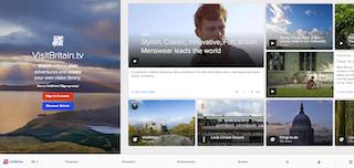 Geocast TV、Brightcove Smart Player API を活用して VisitBritain.tv をオープン