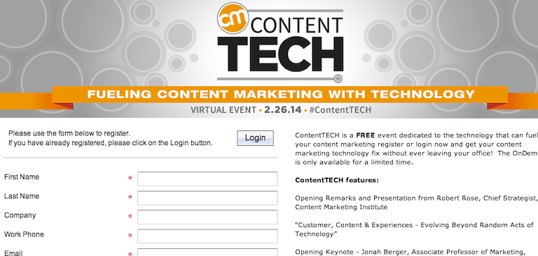 Now Available On Demand: #ContentTech Sessions
