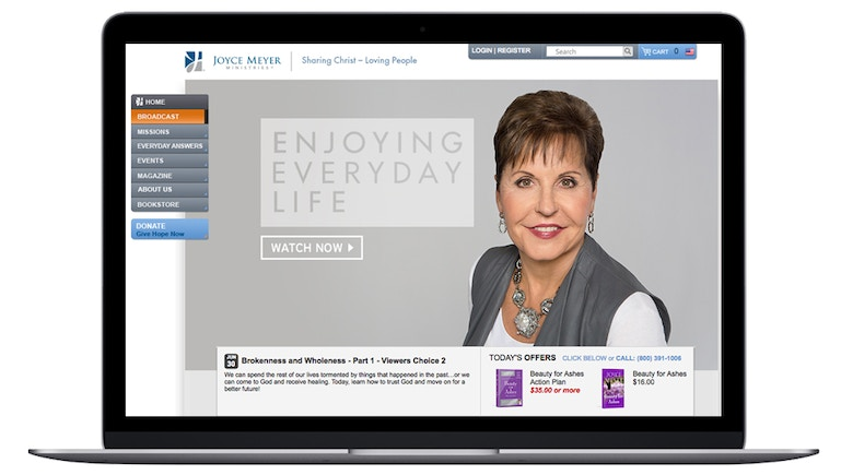 Joyce Meyer Ministries amplía su audiencia y mejora la experiencia visual con Brightcove App Cloud y Video Cloud