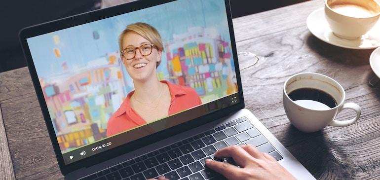 사내 커뮤니케이션에 비디오를 이용하는 쉽고 효율적인 방법