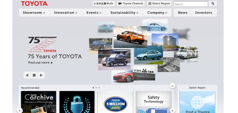 Toyota verwaltet riesige Online-Video-Bibliothek mit Brightcove Video Cloud