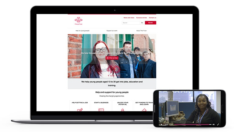 The Prince's Trust's Unique Video Campaign Records 78% Completion Rate