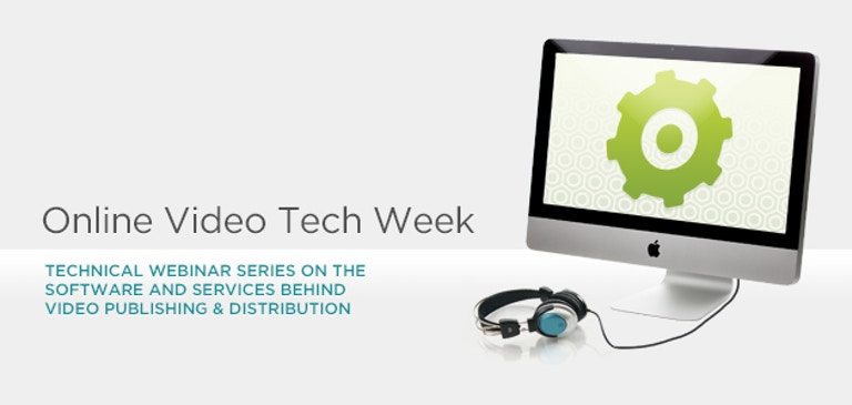 Join Us for Online Video Tech Week