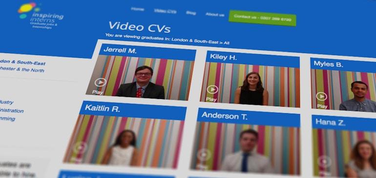 Les CV vidéo simplifient l'embauche et génèrent une croissance de 30 % chez Inspiring Interns
